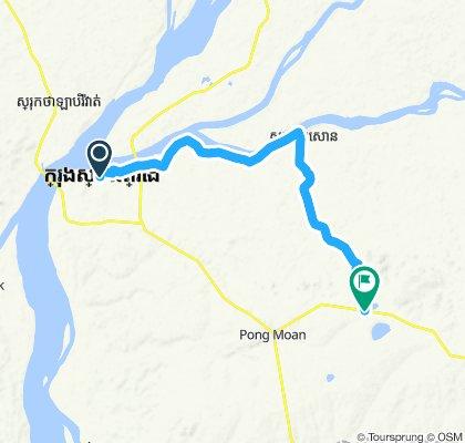 Stung Treng - Banlung 30km
