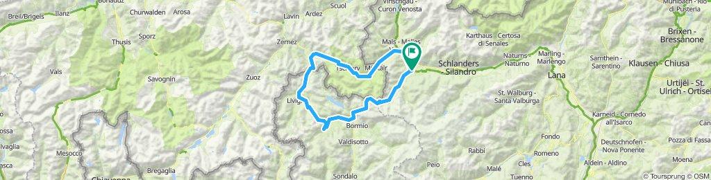Stelvio - Livigno - Prad