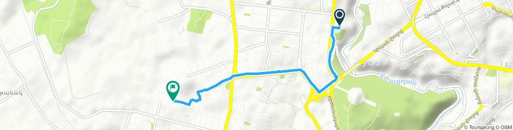 Work Route to TUMO