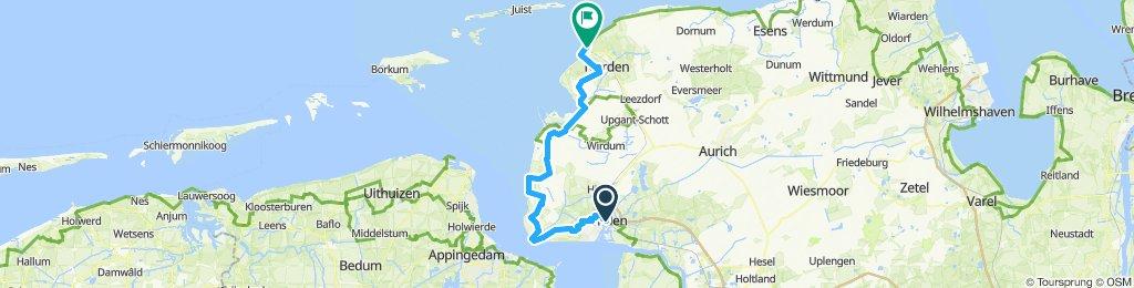 Tag 5: Emden - Norddeich
