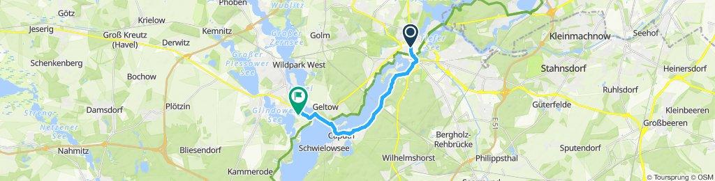 2 13,2km Potsdam-Camping