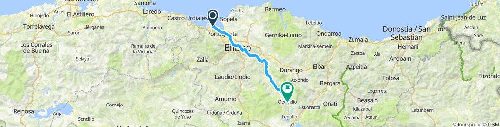 1bc Bilbao to Otxandio