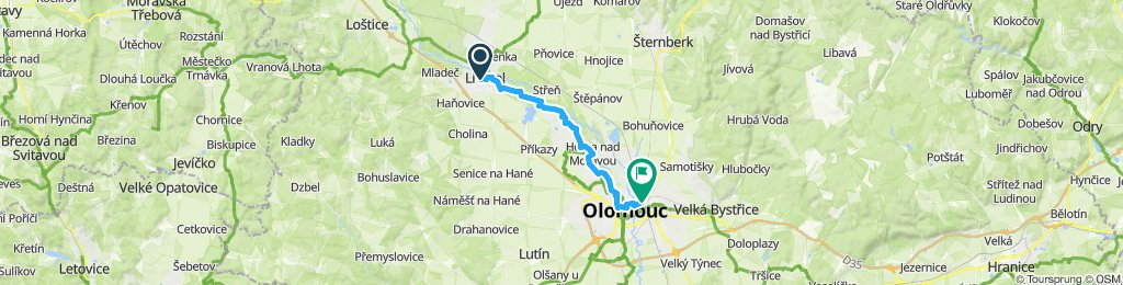 Day 1: Litovel - Olomouc
