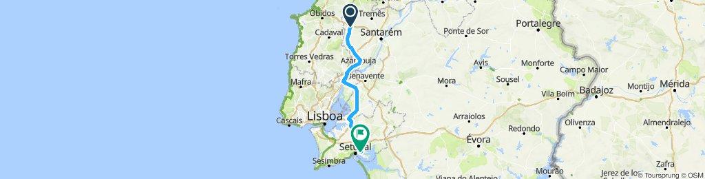 Rio Maior - Barrancos - Rio Maior/DIA1