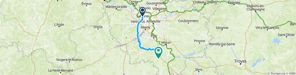 Paris Ouest - Fontainebleau