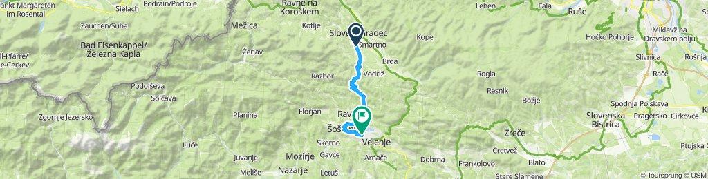 Slovenj Gradec -Velenjsko jezero