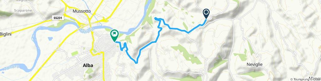 Easy ride in Alba