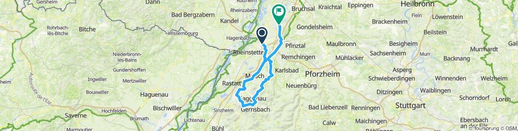 Ebersteinburg - Freiolsheim
