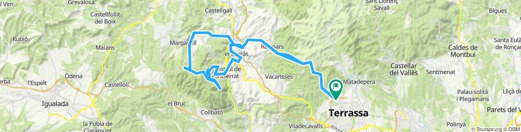 Terrassa-Montserrat-Terrassa