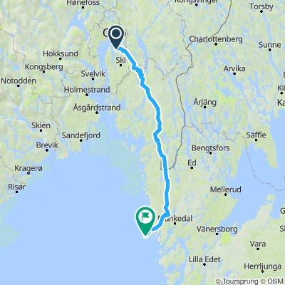 Indre rute til Smøgen lørdag