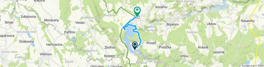 Steady ride in Seč