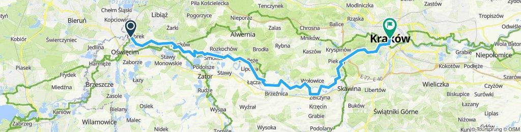 Wycieczka rowerowa do Krakowa