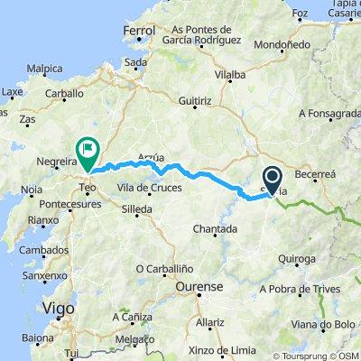VIII. Sarria - Santiago de Compostela