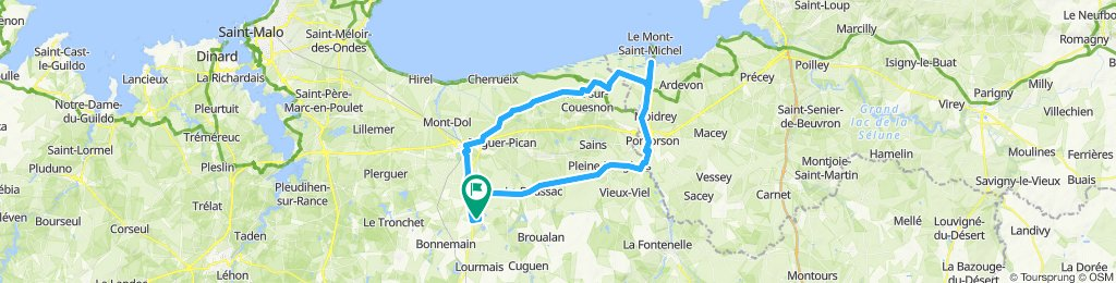 Epiniac - Mont St. Michel (Bretagne)