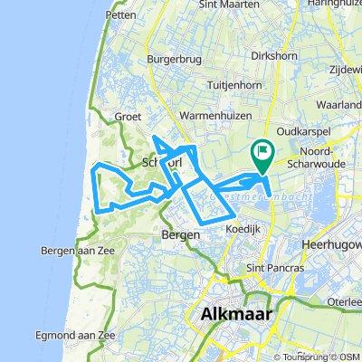 ATB route Langendijk en Schoorl