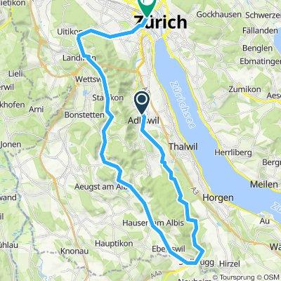 To Zürich via Sihlbrugg
