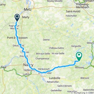 24. Etappe Corny sur Moselle - Maizieres les Vic