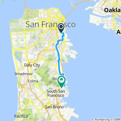Potrero to South San Francisco