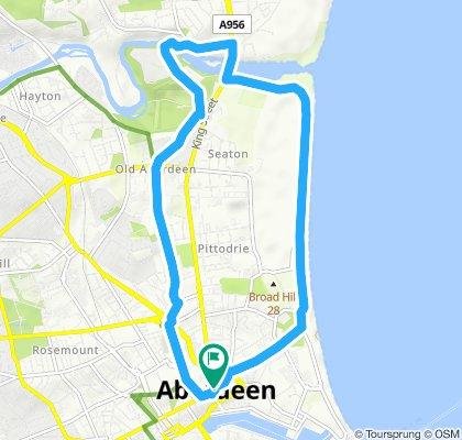 First Aberdeen BBC night ride