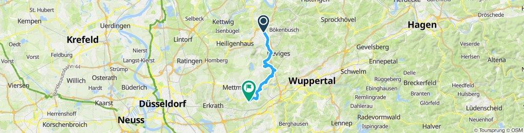 Auftakt Stadtradeln Velbert-Wülfrath-Gruiten