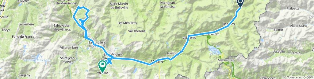 Route des Grandes Alpes 2019 Alt. 2.1 - Tag 3