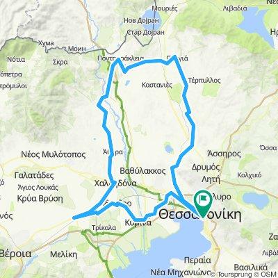 Brevet Θεσσαλονίκης 2019 (200km)