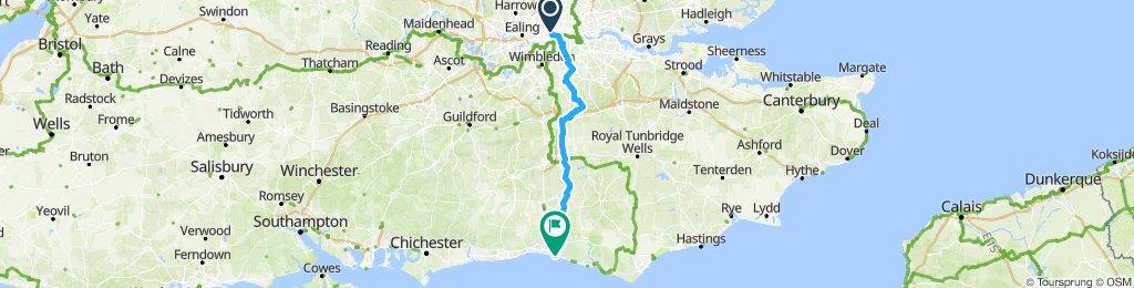 TLA/SEACHANGE London To Brighton Bike Ride