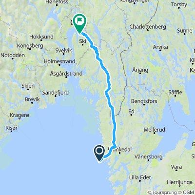 Indre rute fra Smögen Søndag
