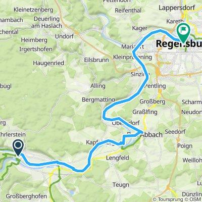 Wertheim - Wien 6.Etappe