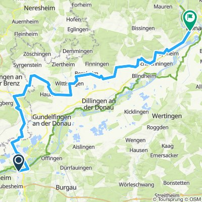 Günzburg bis Donauwörth