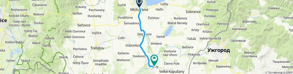 Michalovce - Budkovce - Vojany