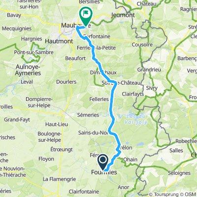 Paris - Hamburg (Etappe 3a)