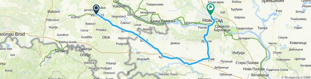 Tura NS - 3.etapa (Vinkovci_Ruma_Novi Sad)