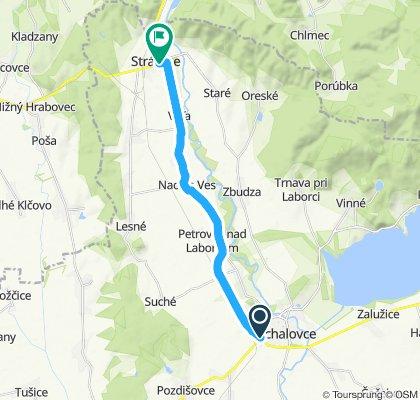 Michalovce - Nacina Ves - Voľa - Strážske