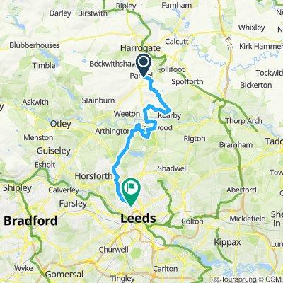 Pannal to Leeds