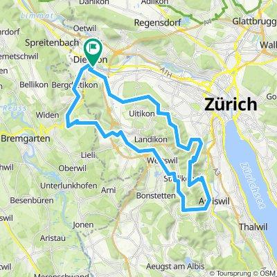 CH-Dietikon - Adliswil 48km 1470hm