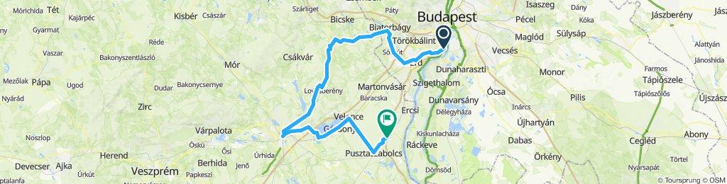 Bringatúra 2019.05.11. - Székesfehérvár, Velencei-tó, Százhalombatta, Érd