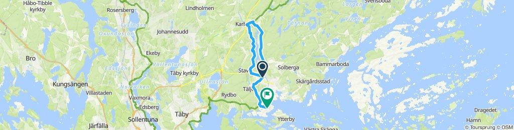 Relaxed route in Österåker