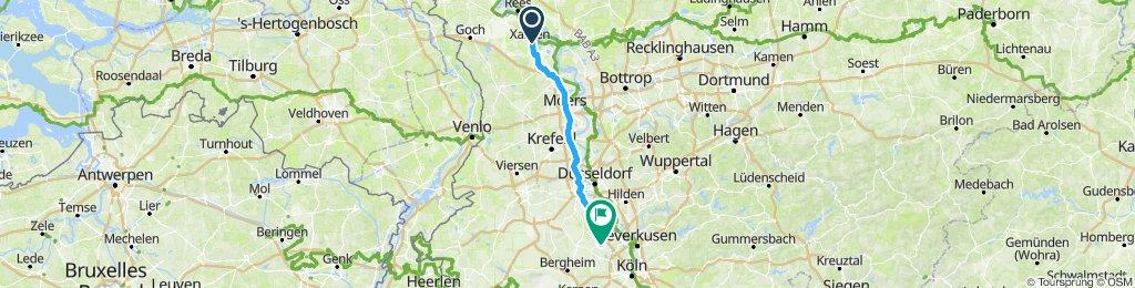 Gemütliche Route in Pulheim
