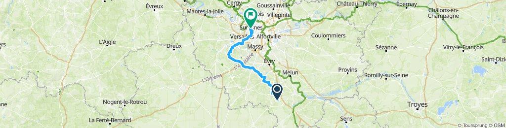 Fontainebleau - Paris Ouest