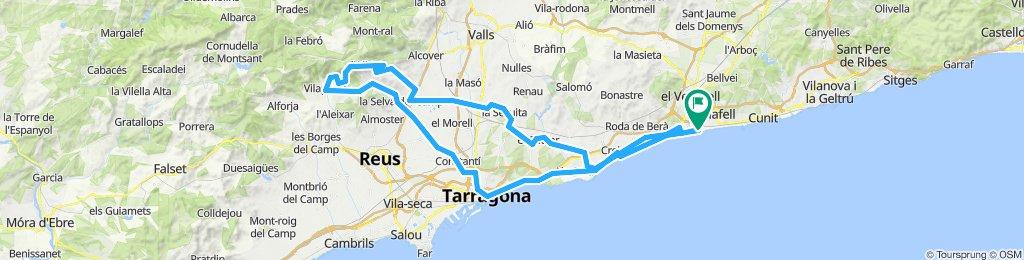 20190512 SANT SALVADOR-TARRAGONA-LA SELVA-VILAPLANA-L'ALBIOL-SANT SALVADOR
