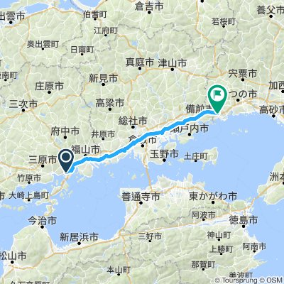 Proposed Japan Day 4 (Onomichi to Ako)