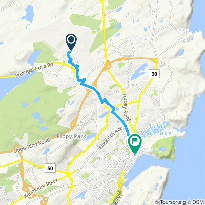 Airport to Hostel NFLD