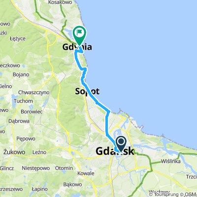 USA D4a Gdańsk - Gdynia 30km