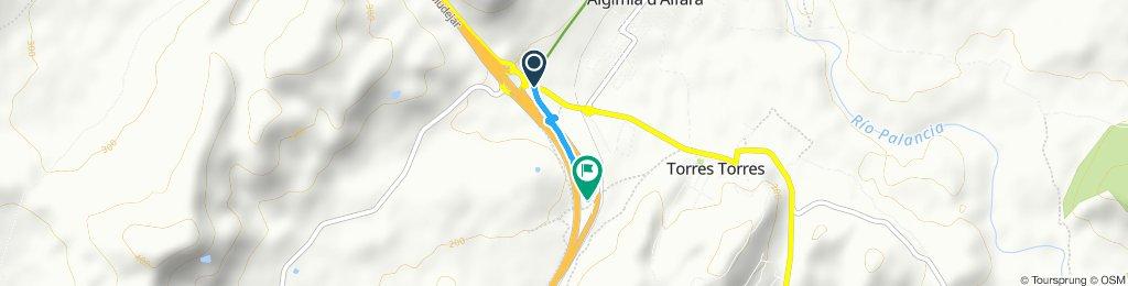 Fin de Vía Verde Laguna de Algimia/Torres-Torres