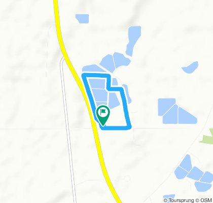 Snail-like route in Macon