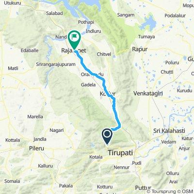 Tirumala TO Rajampet