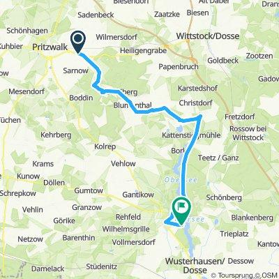 Lubeck Kyritz 2 40 KM (1 stop)