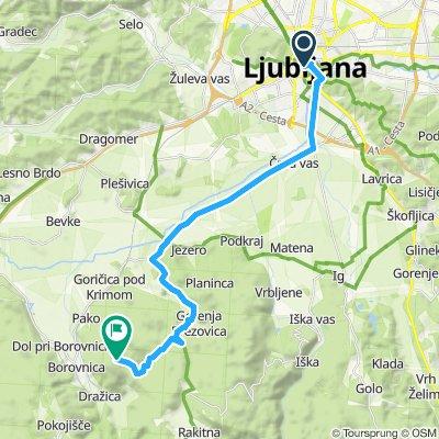 Ljubljana-Planina