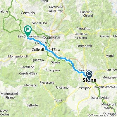 Siena San Gimigiano